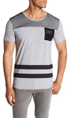 Tailored Recreation Premium Stripe and Mesh T-Shirt
