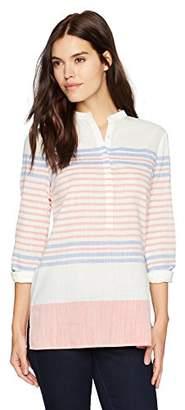 Nautica Women's Long Sleeve Tunic Top