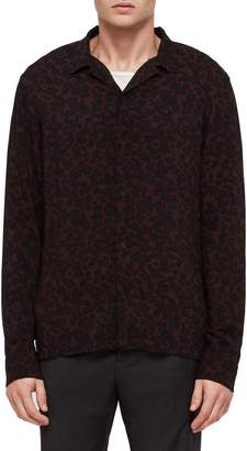 AllSaints Sigfried Regular Fit Print Shirt