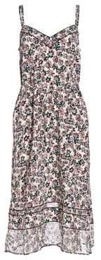 Rag & Bone Ilona Silk Floral Slip Dress