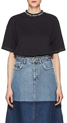 Acne Studios Women's Gojina Logo Cotton T-Shirt