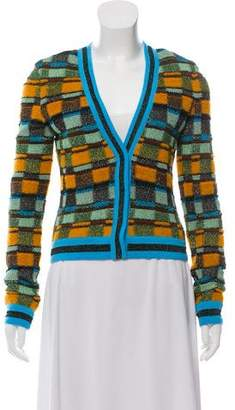 Missoni Metallic Patterned Cardigan