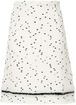 Giambattista Valli dot printed skirt