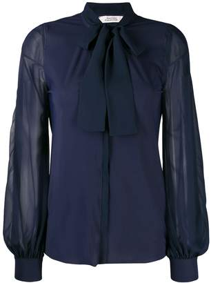 Schumacher Dorothee pussy bow blouse