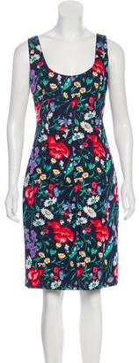 Dolce & Gabbana Printed Sheath Dress