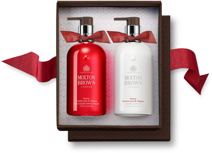 Festive Frankincense & Allspice Hand Wash & Lotion Set