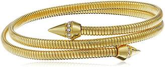Vince Camuto Coil with Pave Cone Gold Bracelet