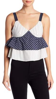 Joie Layered Striped Tank Top