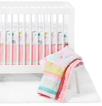 Cloud Island Crib Bedding Set Forest Frolic 4pc - Cloud Island Pink