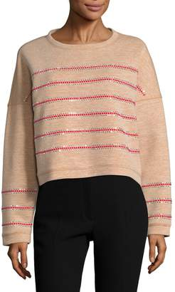 Manoush Women's Studded Cotton Sweater