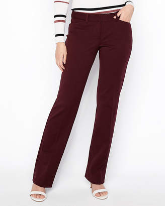 Express Petite Low Rise Barely Boot Editor Pant