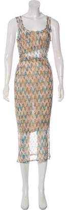 Missoni Pointelle Maxi Dress