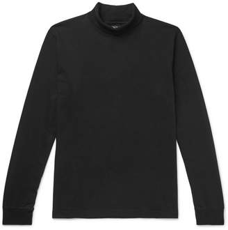 Beams Cotton-Jersey Rollneck Sweater