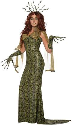 MeDusa Forum Novelties Inc. Women's Costume Fancy Dress Snake Print Greek Goddess Mythology 14/16