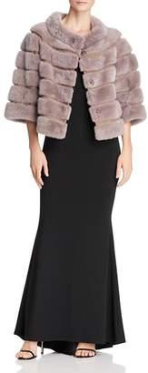 Maximilian Furs Suede-Trim Mink Fur Jacket - 100% Exclusive