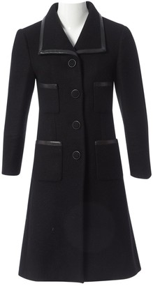 Chanel Black Cashmere Coats