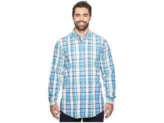 Nautica Big Tall Long Sleeve Plaid Shirt