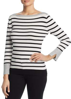 Sioni Striped Boatneck Sweater
