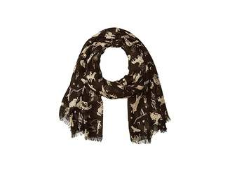 Polo Ralph Lauren All Over Rodeo Modal/Cashmere Scarf