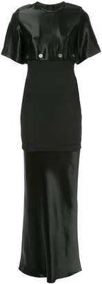 CHRISTOPHER ESBER long panelled dress