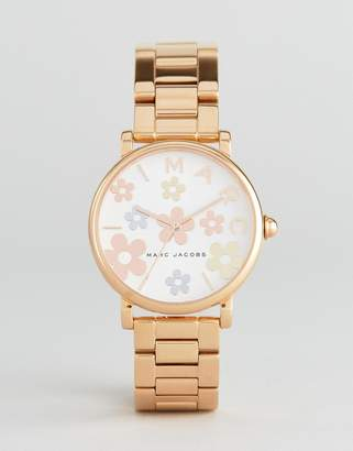 Marc Jacobs Classic MJ3580 Bracelet Watch In Rose Gold