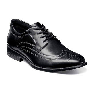 Nunn Bush Decker Men's Wingtip Dress Oxford Shoes