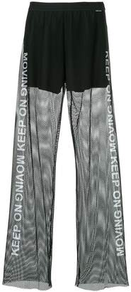 Marc Cain Keep On mesh trousers