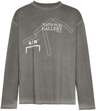 A-Cold-Wall* National Gallery print cotton t shirt