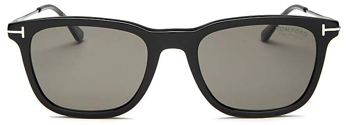 Tom Ford Men's Arnaud Combo Polarized Square Sunglasses, 53mm