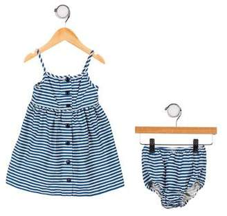 Ralph Lauren Striped Two-Piece Dress Set