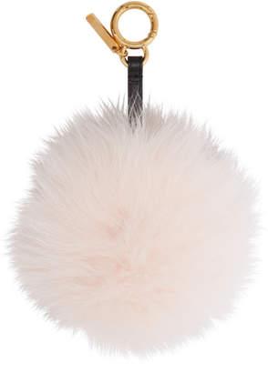 Fendi Pink Fur Forever Keychain