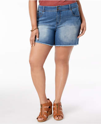 Style&Co. Style & Co Plus Size Raw-Hem Shorts, Created for Macy's