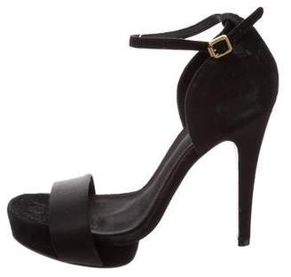 Tory Burch Suede Platform Sandals