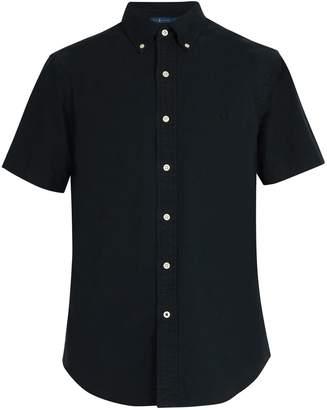 Polo Ralph Lauren Logo embroidered short-sleeved cotton shirt