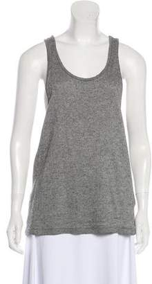 The Elder Statesman Cashmere Sleeveless Knit Top
