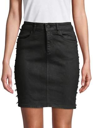DL1961 Premium Denim Women's High-Rise Denim Skirt