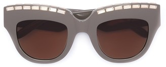 Vera Wang embellished cat eye sunglasses