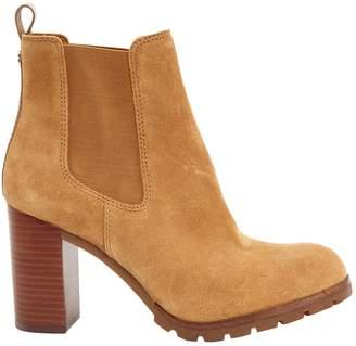 afa33eddc Camel Suede Ankle Boots - ShopStyle