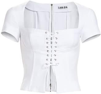 I.AM.GIA Evita Lace-Up Corset