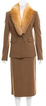 Michael Kors Wool Skirt Suit