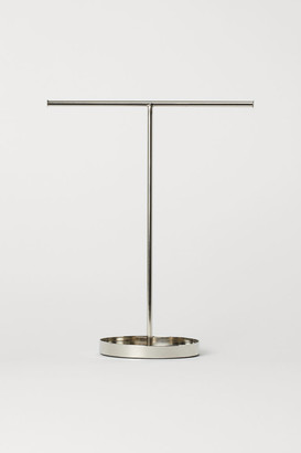 H&M Metal Jewelry Stand - Silver
