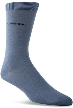 Calvin Klein Giza Flat Knit Socks $12 thestylecure.com
