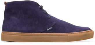 Hackett rubber sole desert boots