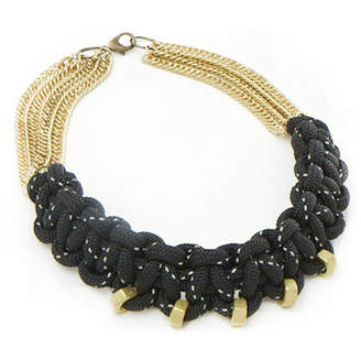 The Knot House Black Rockaway Necklace