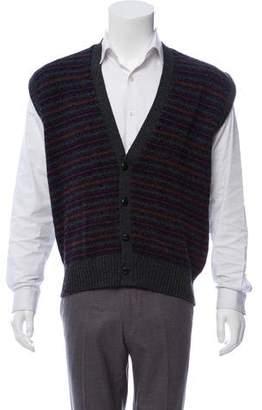 Burberry Fair Isle Cardigan Vest