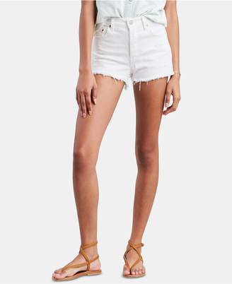 Levi's 501 Cotton High-Rise Denim Shorts