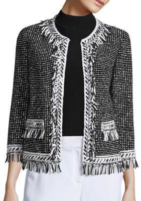 St. John Speckled Tweed Jacket $1,595 thestylecure.com