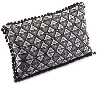 ZUO Triangles Pillow Black & White