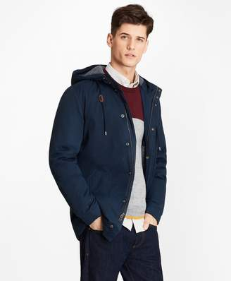 Brooks Brothers Jersey-Lined Heavy Anorak