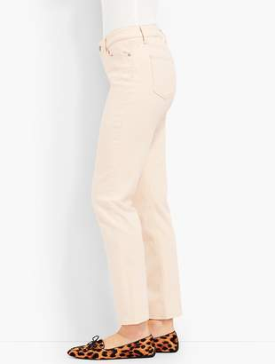 Talbots The Flawless Five-Pocket Ankle-Natural Denim